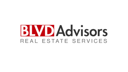 BLVD ADVISORS<br>Logo Design | West Hollywood, CA