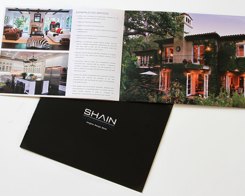 Shain Construction & Design | Brochure