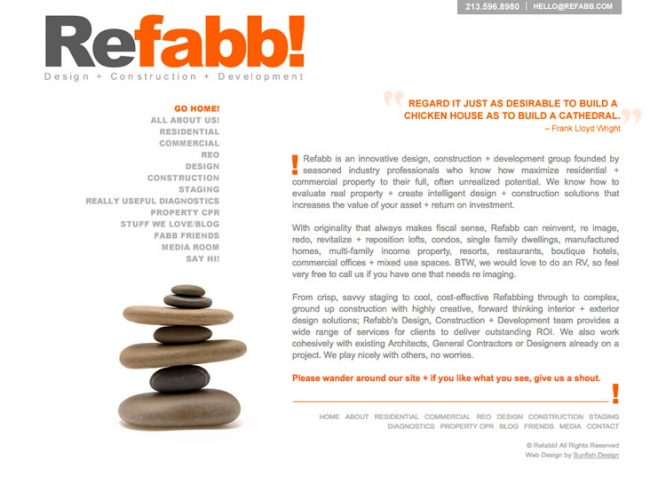 REFABB <br> Website Design | Los Angeles