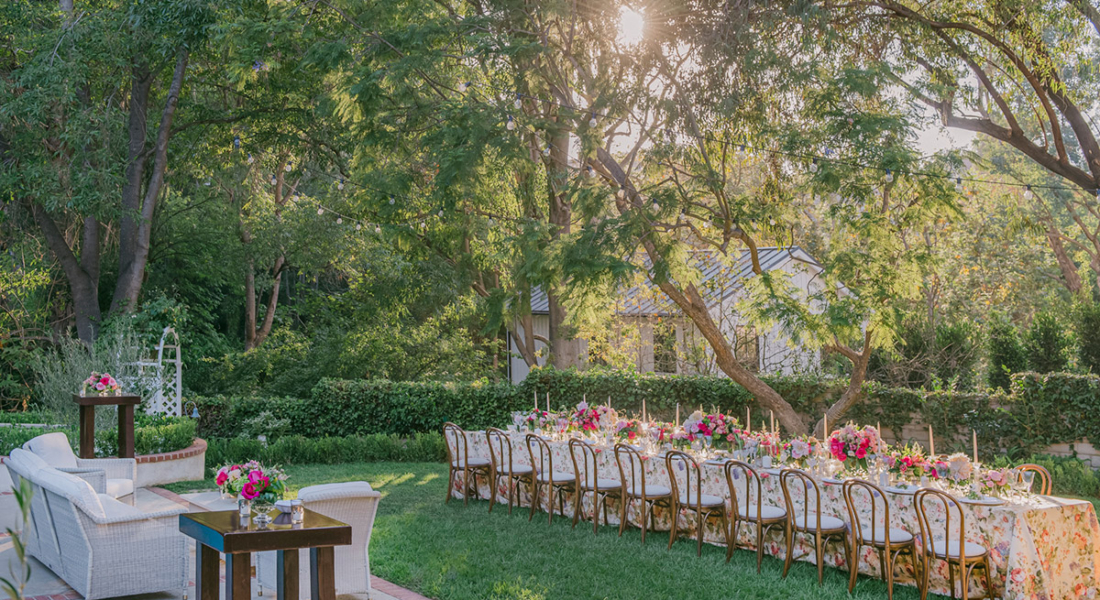 wedding planner backyard wedding los angeles