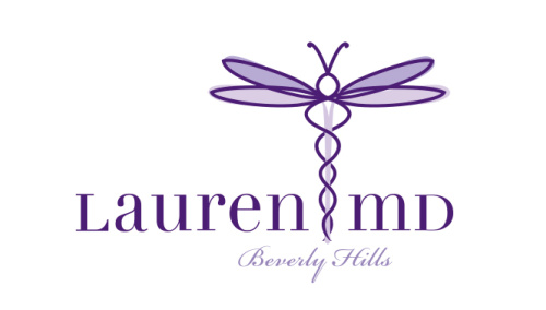 LAUREN MD<br>Logo Design | Beverly Hills, CA
