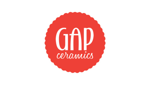 GAP CERAMICS<br>Logo Design | Los Angeles, CA